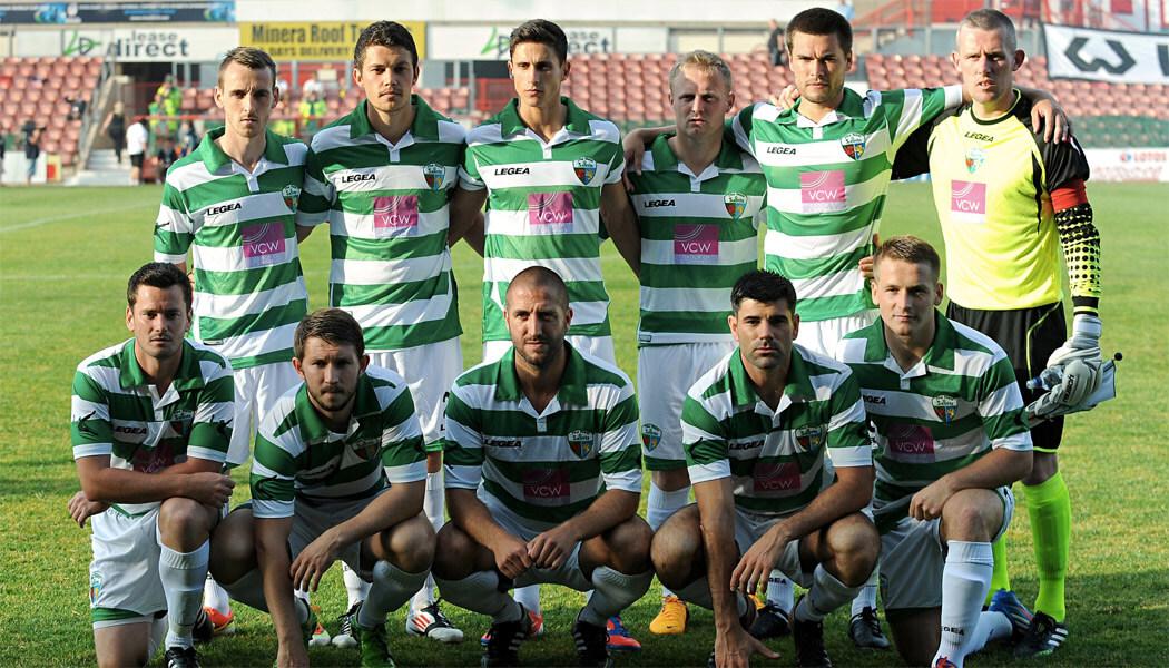 The New Saints of Oswestry Town & Llansantffraid Football Club