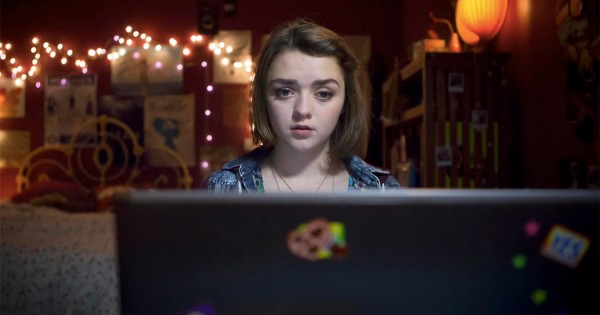 Imagen de la serie Cyberbully, con Maisie Williams