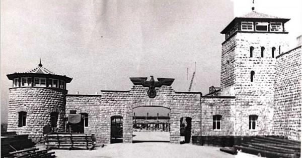 Imagen del campo de Mauthausen